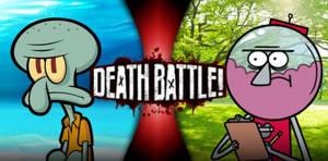 Squidward Tentacles vs Benson Dunwoody