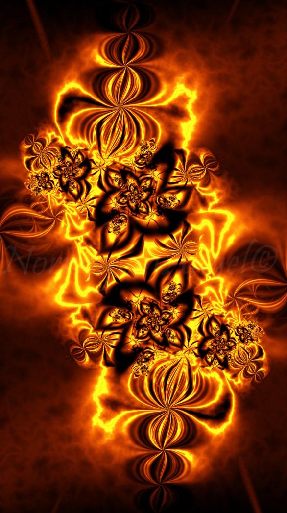 Autumn's Ablaze by FractalEuphoria