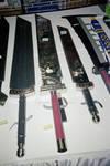 Buster Swords by MonteCristoHakushaku