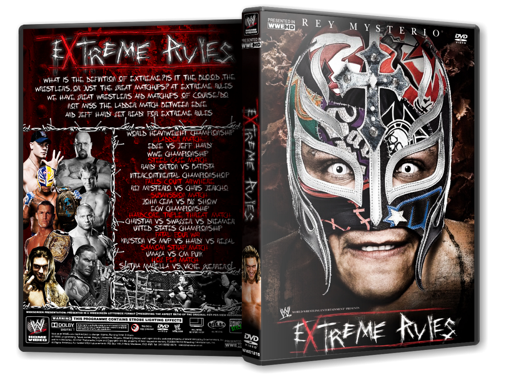 Extreme Rules 2009 DVD Cover by Mr-Damn