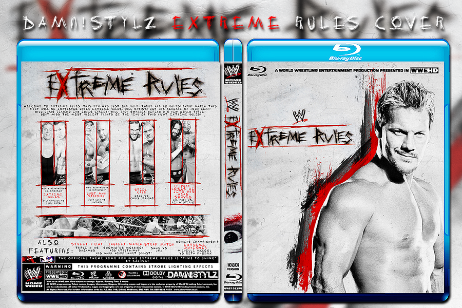 Image result for extreme rules 2010 poster