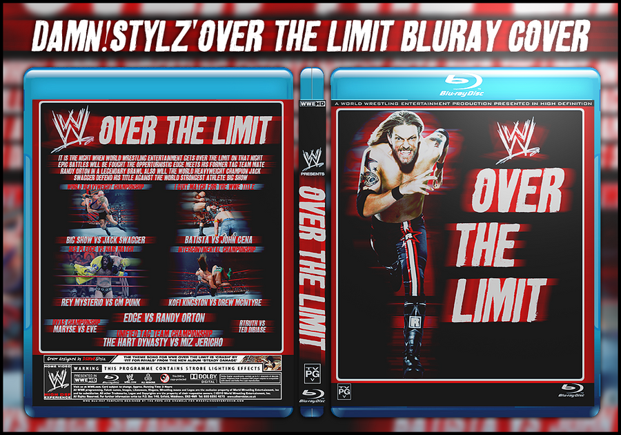 WWE Over the Limit Cover by Mr-Damn