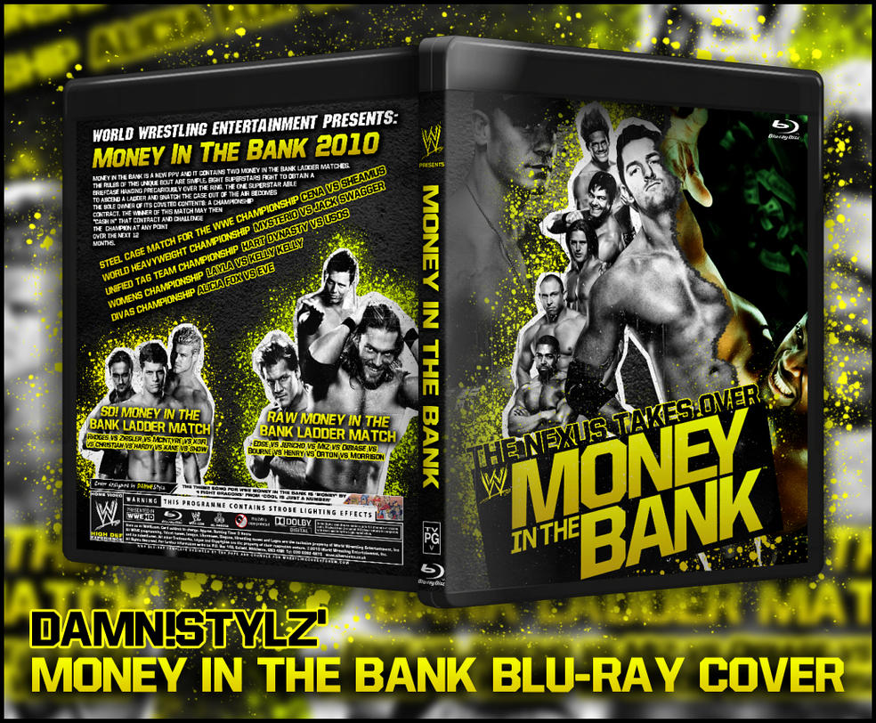 Money in the Bank 2010 Cover by Mr-Damn