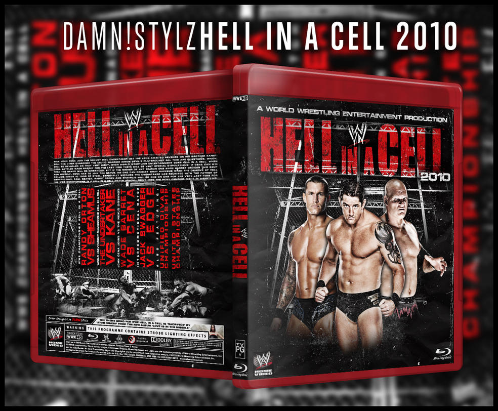 WWE Hell in a Cell BluRay 2010 by Mr-Damn