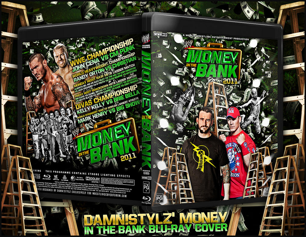 WWE MONEY IN THE BANK 2011 by Mr-Damn