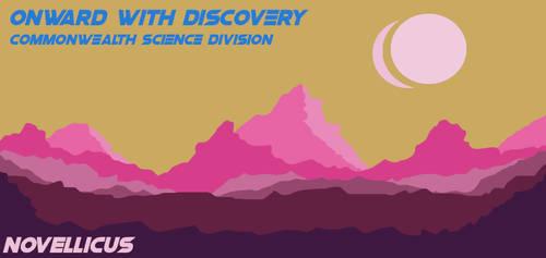 Sci-fi Propaganda Poster