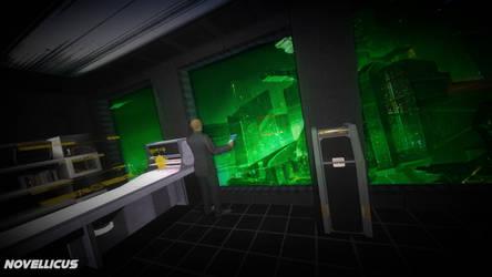 Sci-fi Apartment