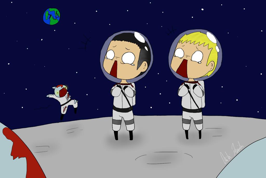 chibi astronaut - photo #16