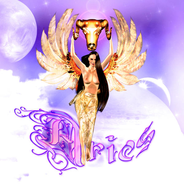 Aries Angel by QueenFlamewing