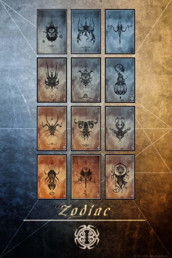 Zodiac XII by the-zodiac-club