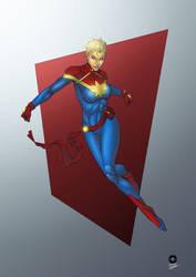 Captain Marvel by CAPTAIN-GAMMA