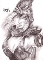 Ashe de League Of Legends by david-digil-zero