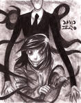 Slender man y Jeff the Killer (especial halloween)
