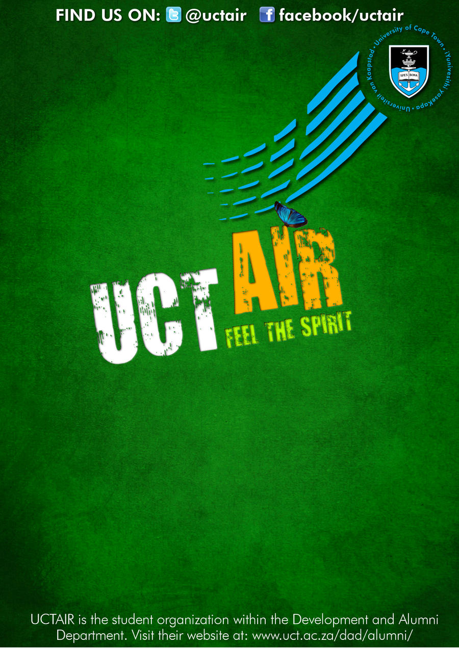 UCTAIR 2013 Poster by ruthster