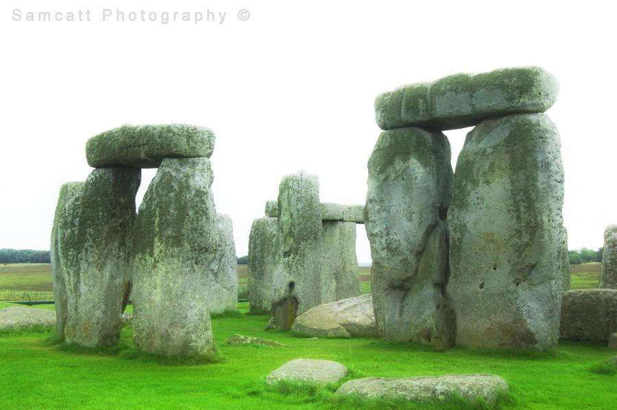 Ethereal Standing Stones by Samcatt