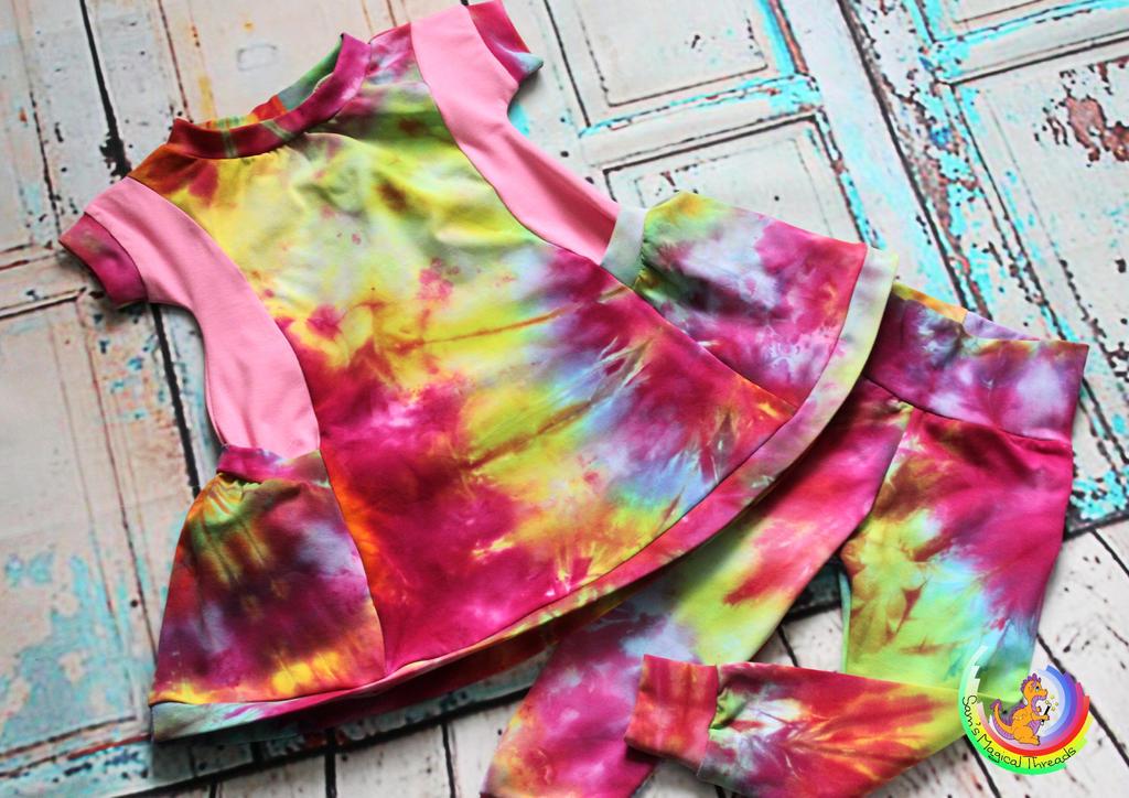 Pocket dress and leggings by Samcatt