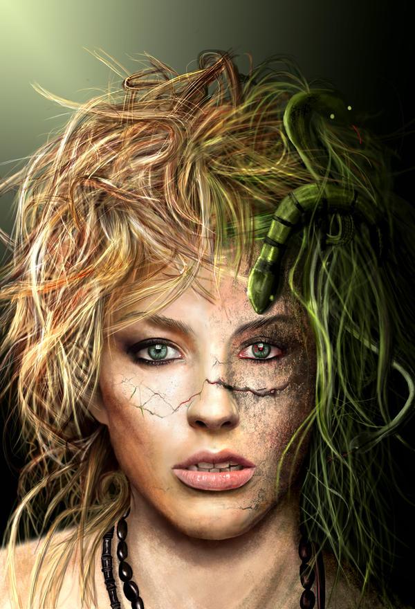 The Modern Day Medusa by SuperNinkendo