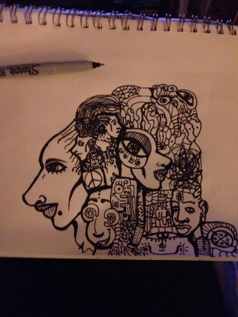 Sketch of Madness WIP by xxravenohayexx