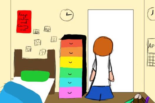 Lorance's room