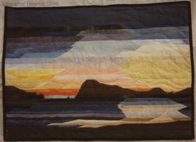 Harbour Entrance - Quilt by elfnor