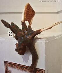 Copper Winged Gargoyle by elfnor