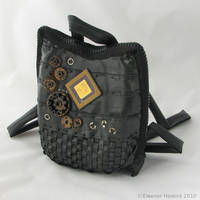 Bicycle tube bag - front by elfnor