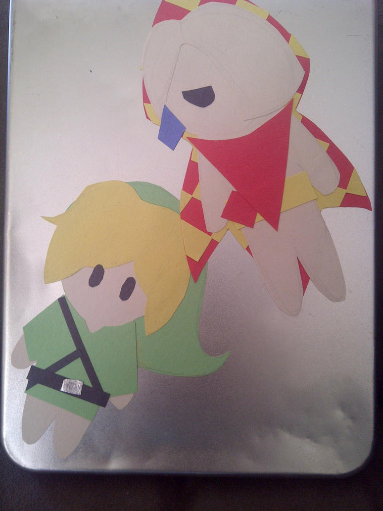 Ghirahim and Link Papercrafts by WorldofInspiration