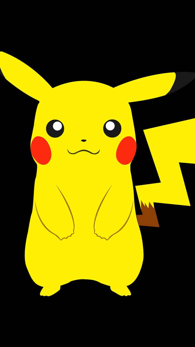 Pikachu Retro Render Phone Wallpaper By Megabigb On Deviantart