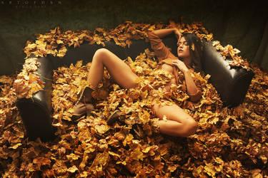 Autumn of a sleeping beauty by ArtofdanPhotography