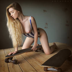 Skater Girl by ArtofdanPhotography