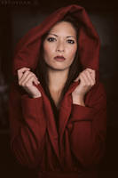 Lady In Red by ArtofdanPhotography