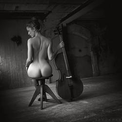 Naked Cello by ArtofdanPhotography