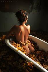 Autumn Bath by ArtofdanPhotography