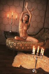 Candlelight Yoga by ArtofdanPhotography