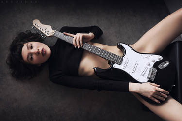 Play My Guitar by ArtofdanPhotography