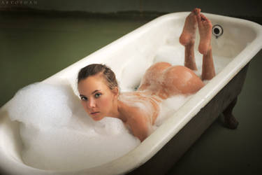 Foam Bath by ArtofdanPhotography