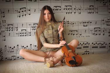 Violin by ArtofdanPhotography