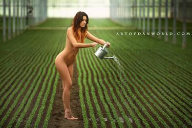 Techno Garden by ArtofdanPhotography