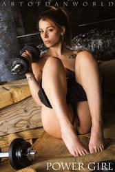 Powergirl by ArtofdanPhotography