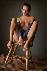 Wooden Chair by ArtofdanPhotography