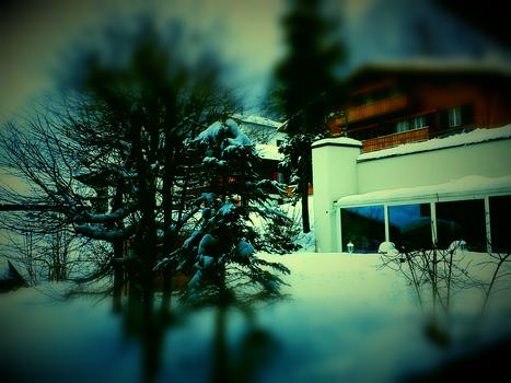 Winter in adelboden