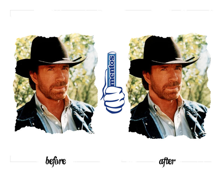Chuck Norris and Mentos by RocketFan
