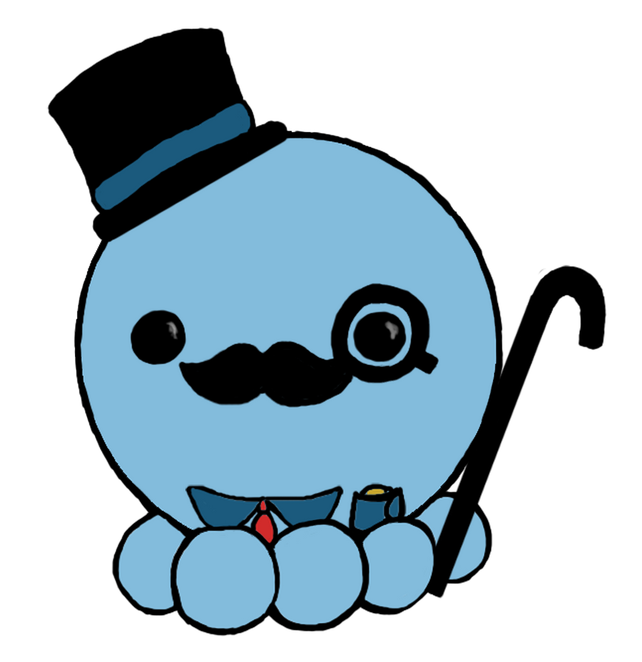 Sir octopus by emibrus1 on deviantart for Cute octopus drawing