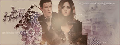 POSSIBLE SPOILERS Doctor Who Hide  FB Cover by yamiinsane