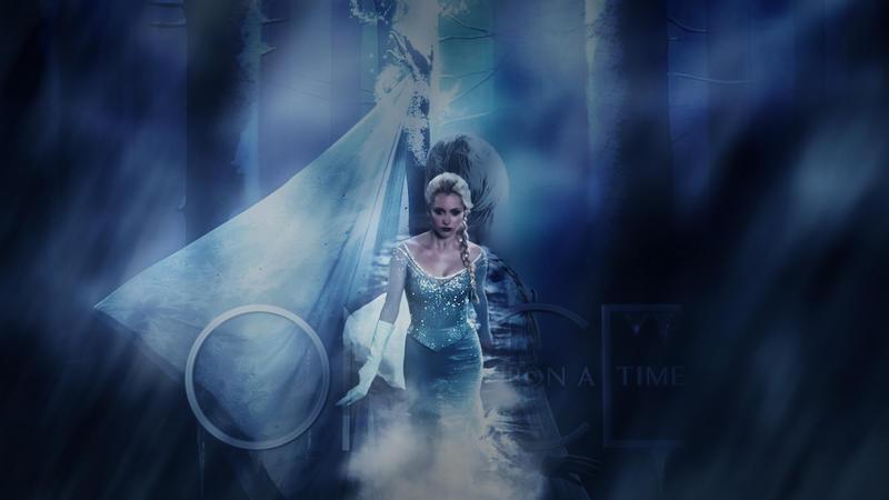 Elsa Wallpaper by yamiinsane