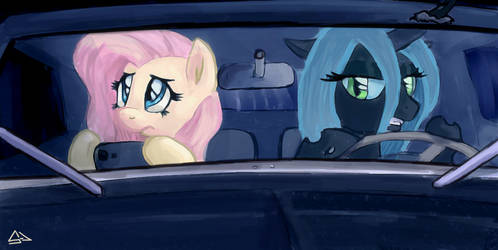 Fluttershy Accuses by sevoohypred