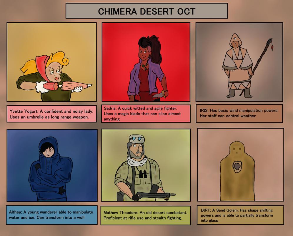 Chimera Desert OCT by WalterBl