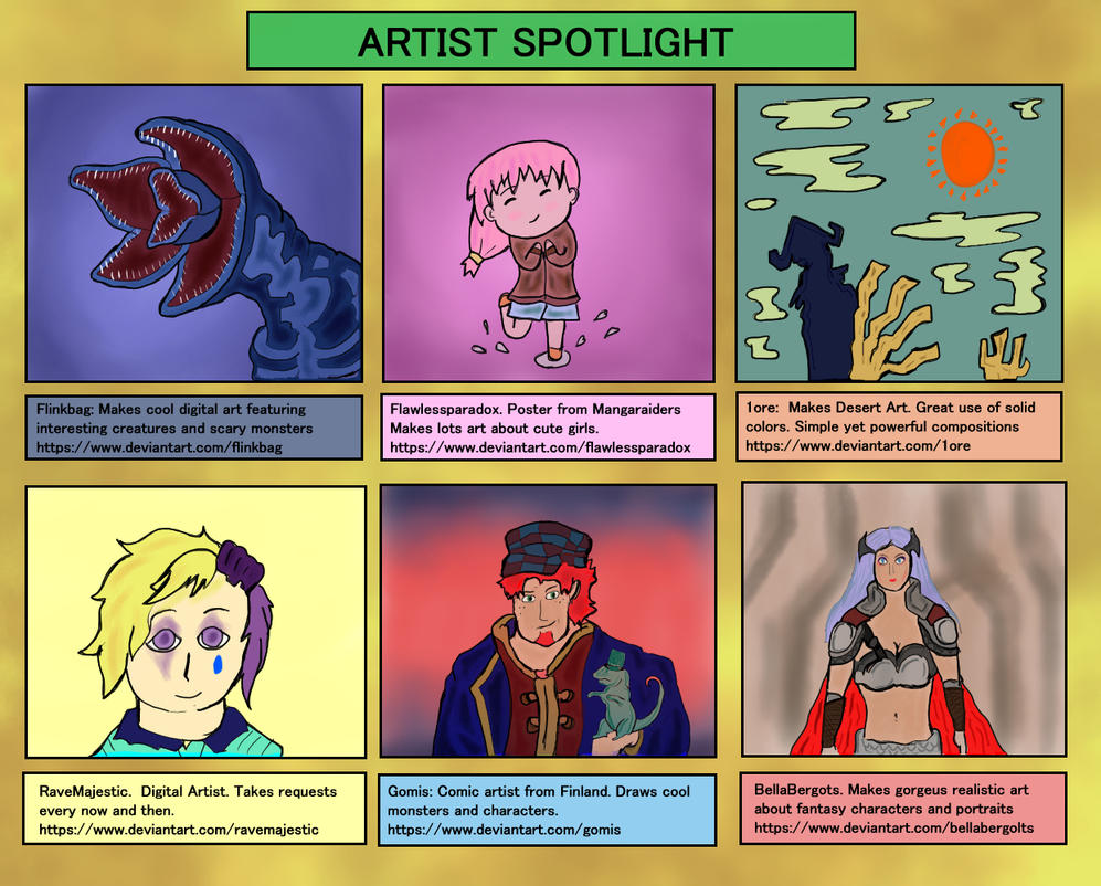 artistsspotlightDa3 by WalterBl
