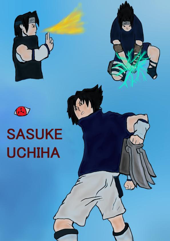 Uchihasasuke by WalterBl