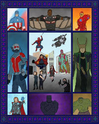 Marvelposter by WalterBl